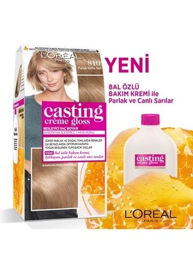 L'Oréal Paris L'Oréal Paris Casting Crème Gloss Saç Boyası - 810 Parlak Küllü Sarı Renkli
